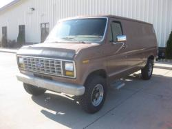 rags the 364 1989 Ford E250 Cargo