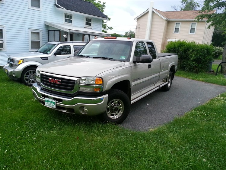 cabinetmaker1603's 2004 GMC 2500 HD Extended Cab