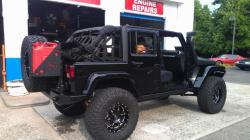 Black JK Unlimited Rubicon