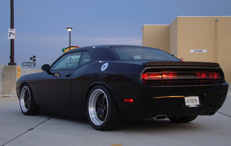 Wicked Black Challenger on 20