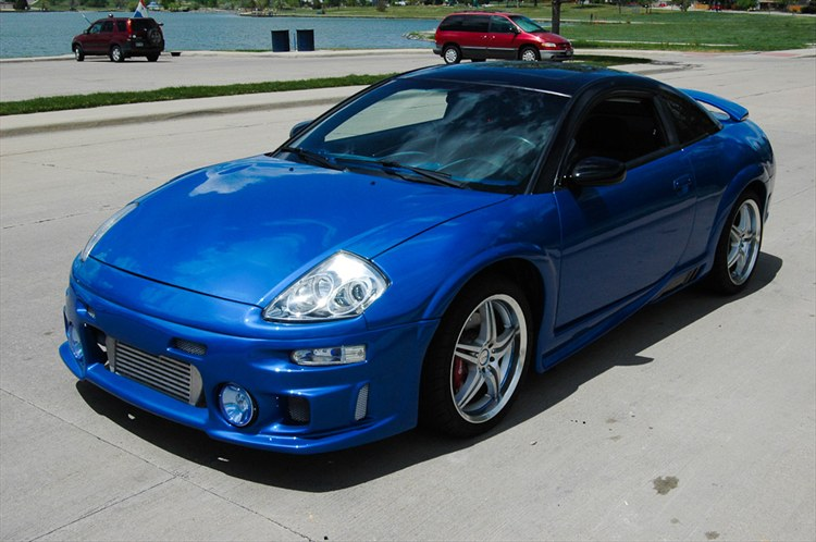 Bluebombershell 2003 Mitsubishi Eclipse Specs  Photos