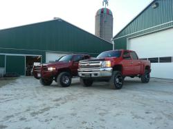 indysbigredchevy 2012 Chevrolet 1500 Extended Cab