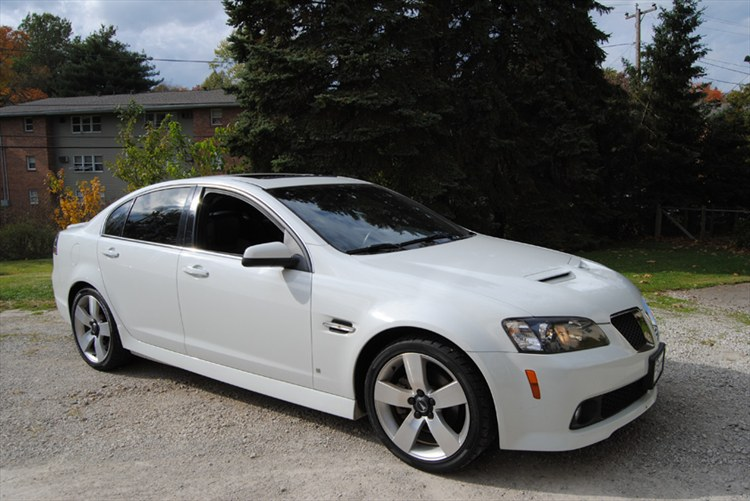Gweg B 2009 Pontiac G8gt Specs Photos Modification Info