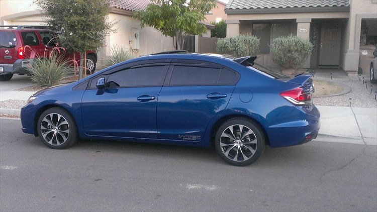 Honda Civic Si 2013 Blue