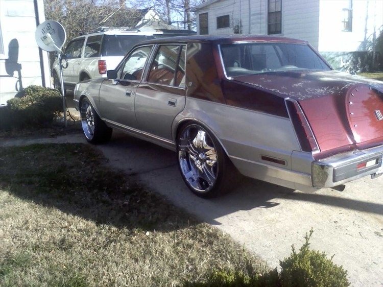 T1987 1984 Lincoln Continental Specs Photos Modification