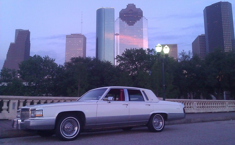 1991 cadillac brougham d 39 elegance red in white all for How far is waco texas from houston texas