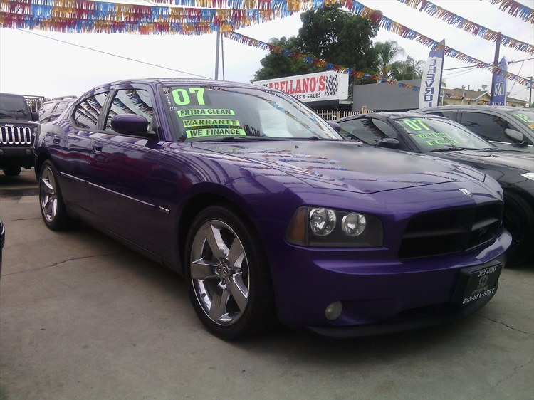 323AUTOEXCHANG 2007 Dodge Charger