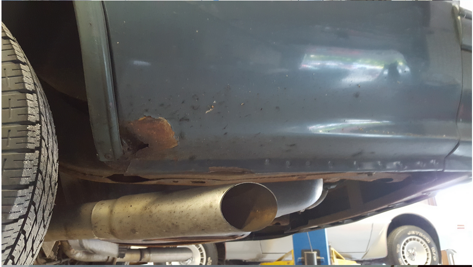 Exhaust Rusting Nicely, after 3 yrs. - 19160060
