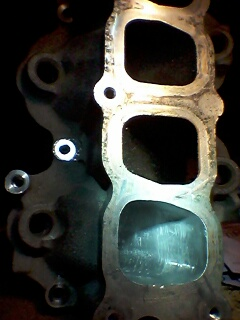 Did some porting of the intake manifold and installed bigger throttle body. - 19120028