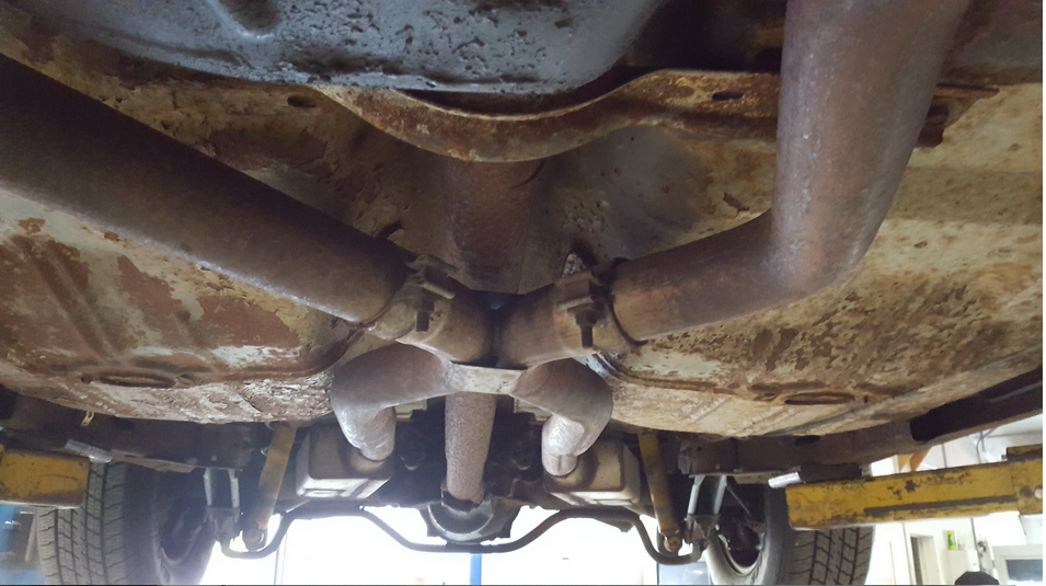 Exhaust Rusting Nicely, after 3 yrs. - 19160059