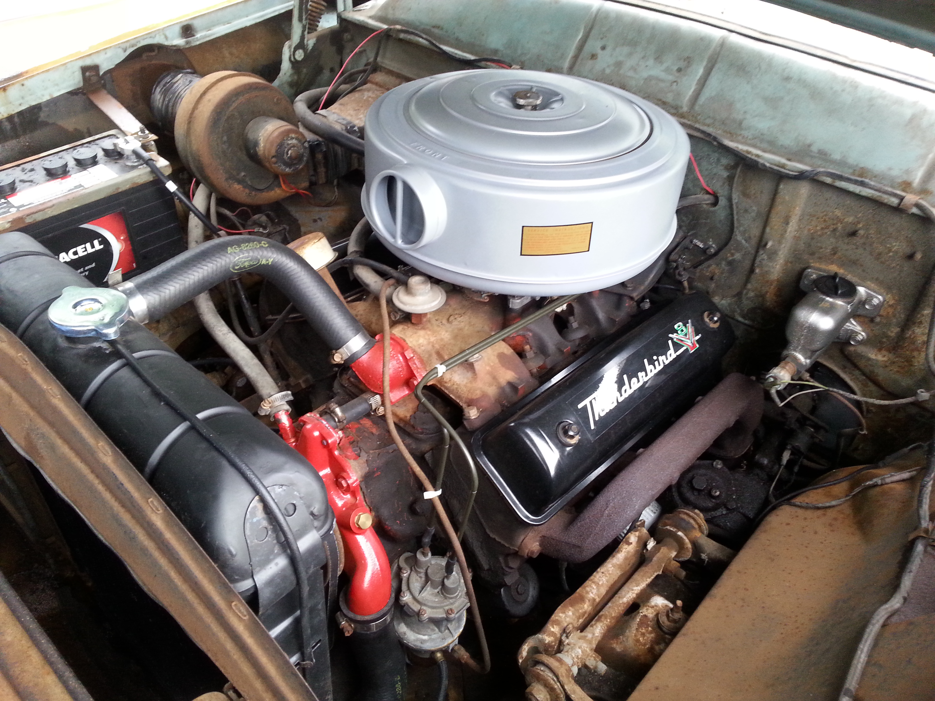 Ford 460 Engine Specs >> chevy_belair1963 1956 Ford Fairlane Specs, Photos ...