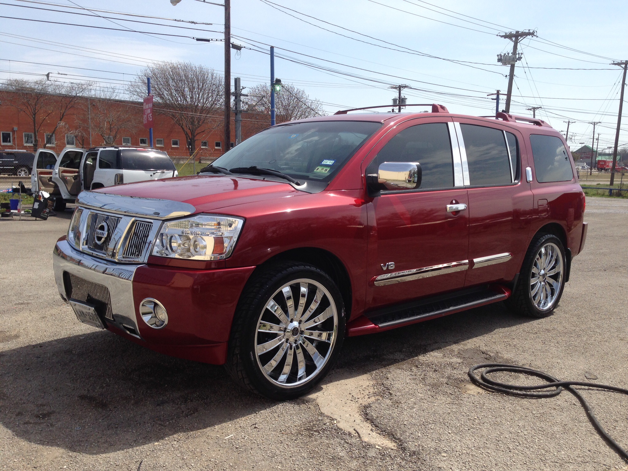 usscott79 2005 nissan armada specs, photos, modification info at