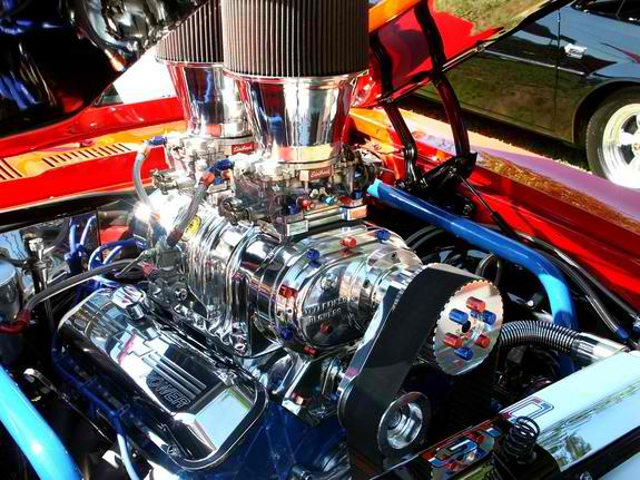 468 cubic inches of Supercharged Chevy Performance - 19069087