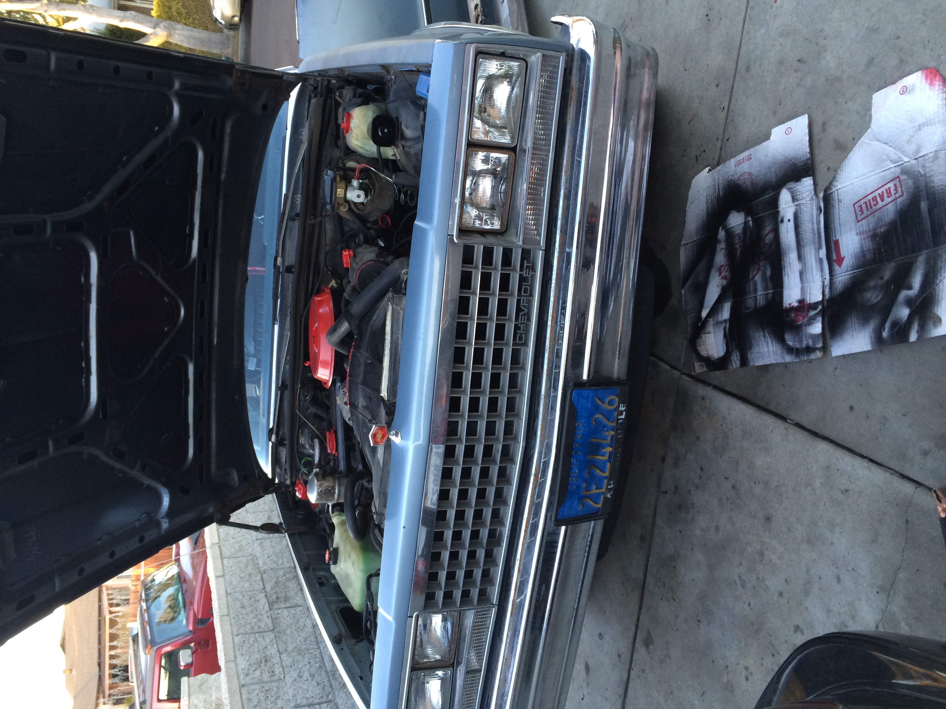 Working in my 83 el camino with a stock v6  - 19055148