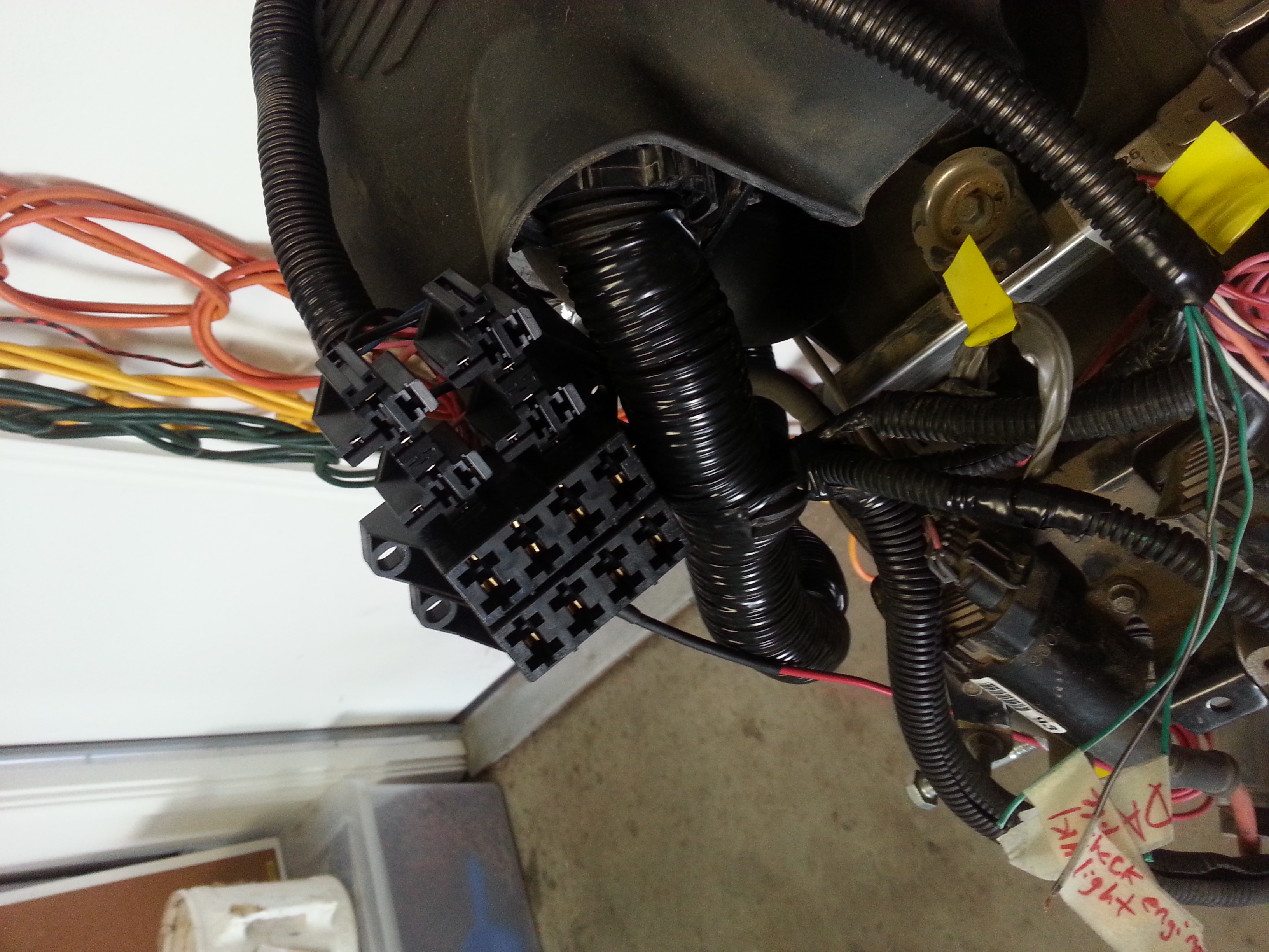 Finished LSX Wiring Harness with diy fuse/relay block - 19106116