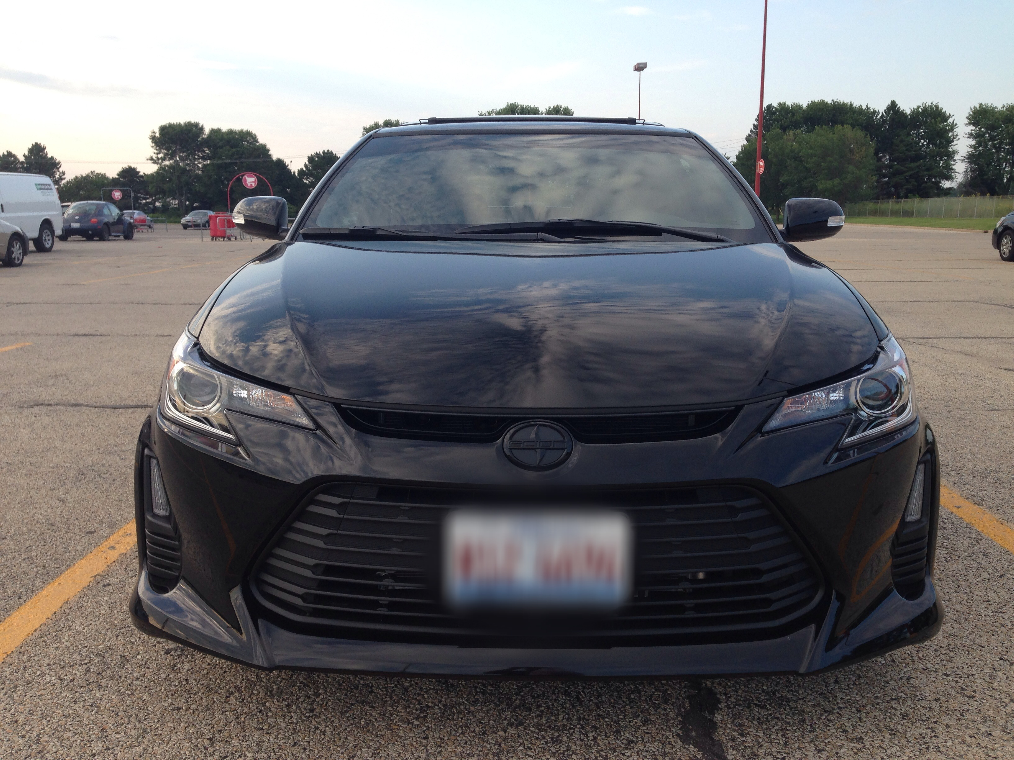 2014 Scion Tc Black