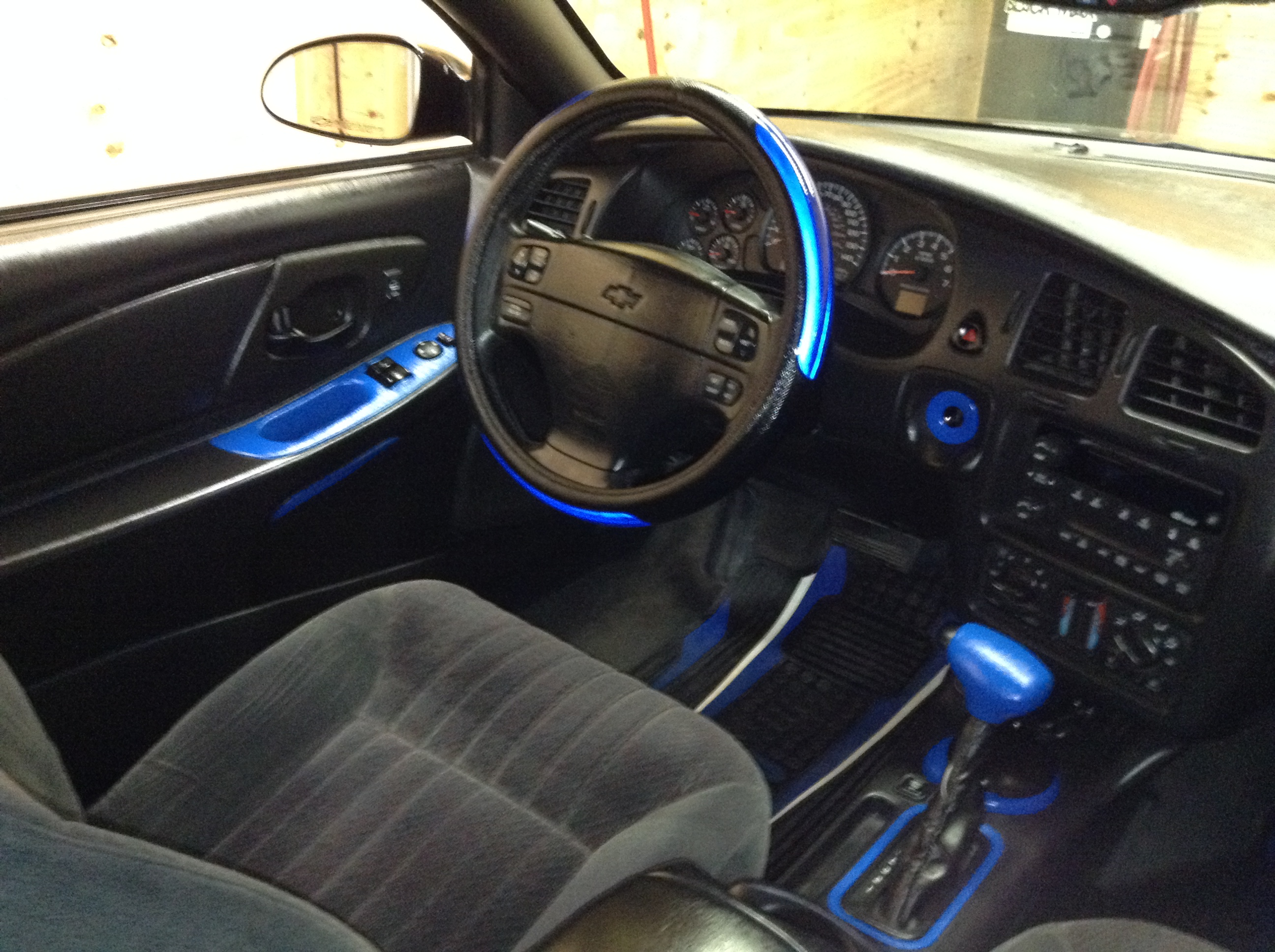 The Black and Blue interior - 19147117