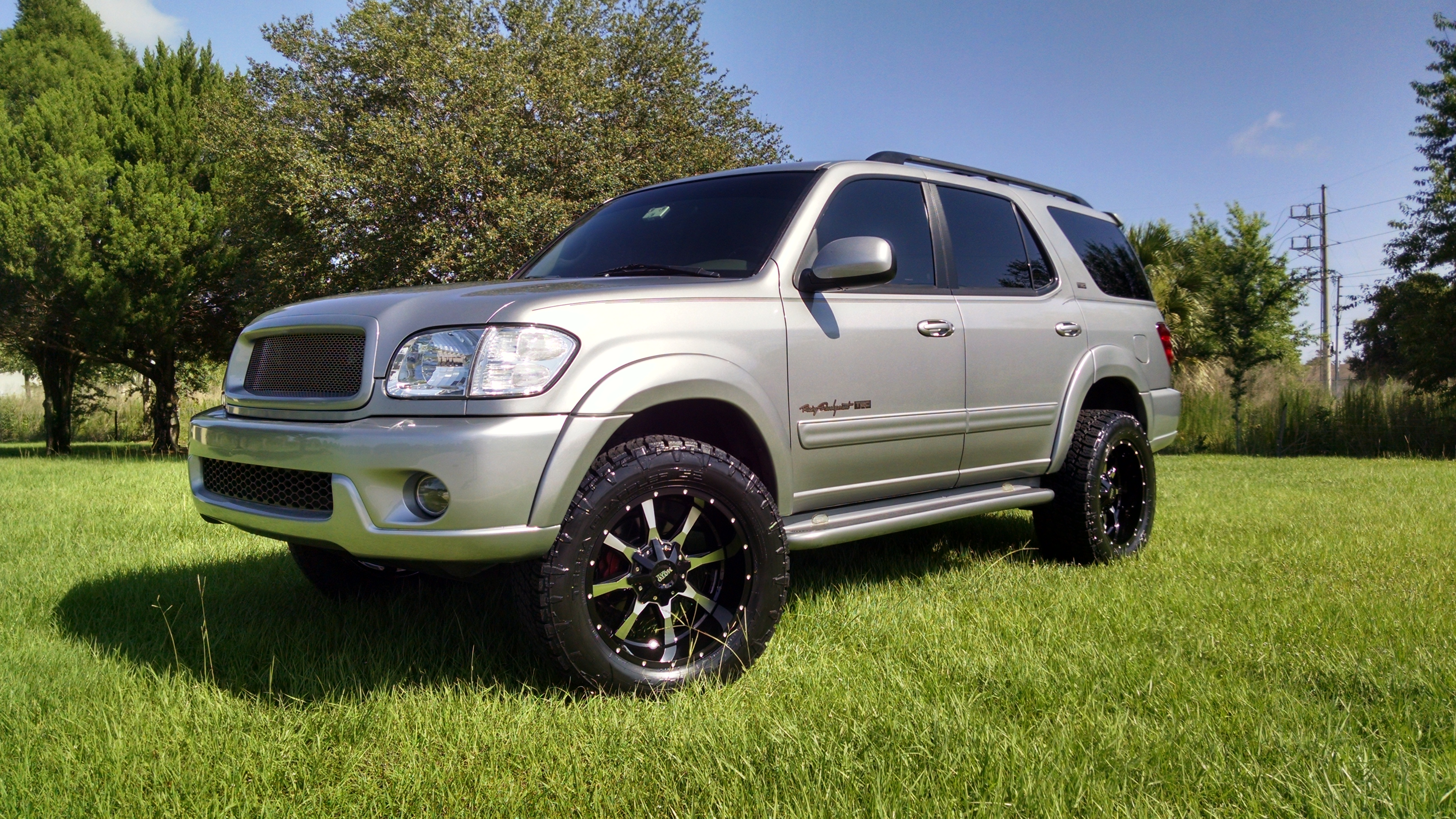 Lifted TRD Toyota Sequoia - 19150297