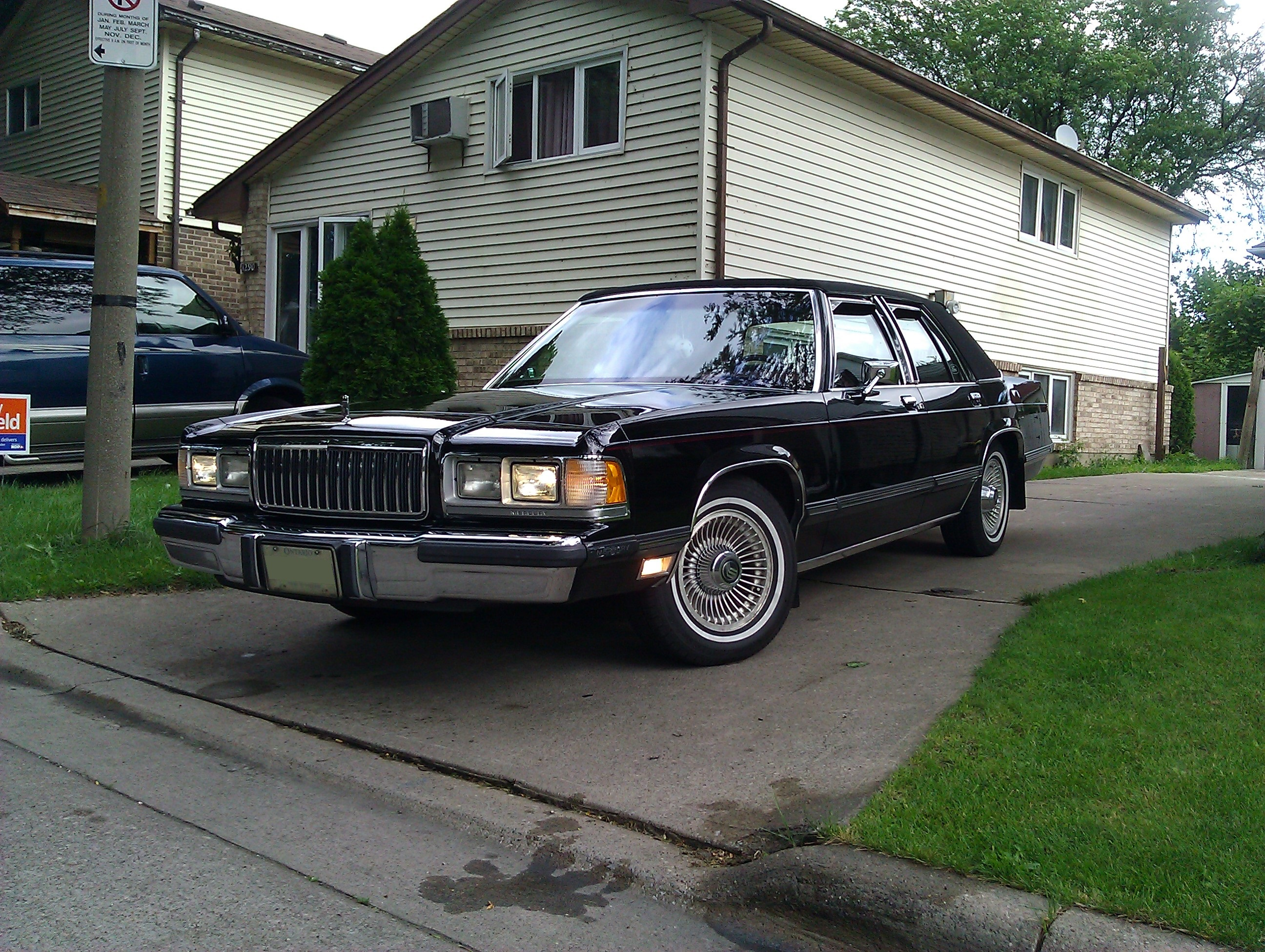 blkpnthr 1991 Mercury GrandMarquis Specs Photos Modification