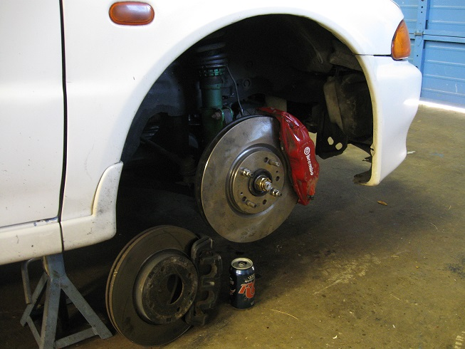 Front Brembo conversion Done! :-) Oh yeah. - 19067262