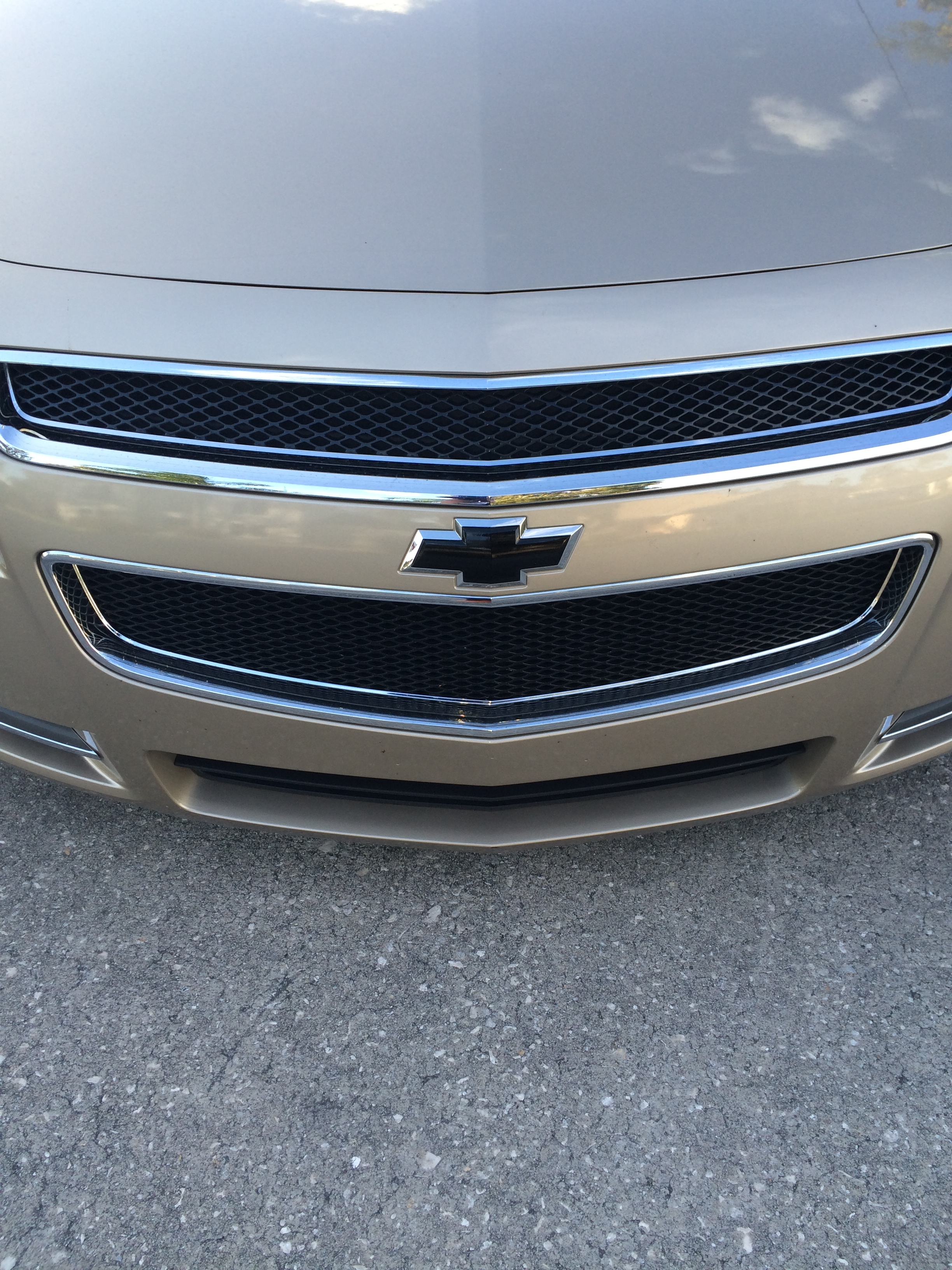 blacked out chevy symbol - 19035378