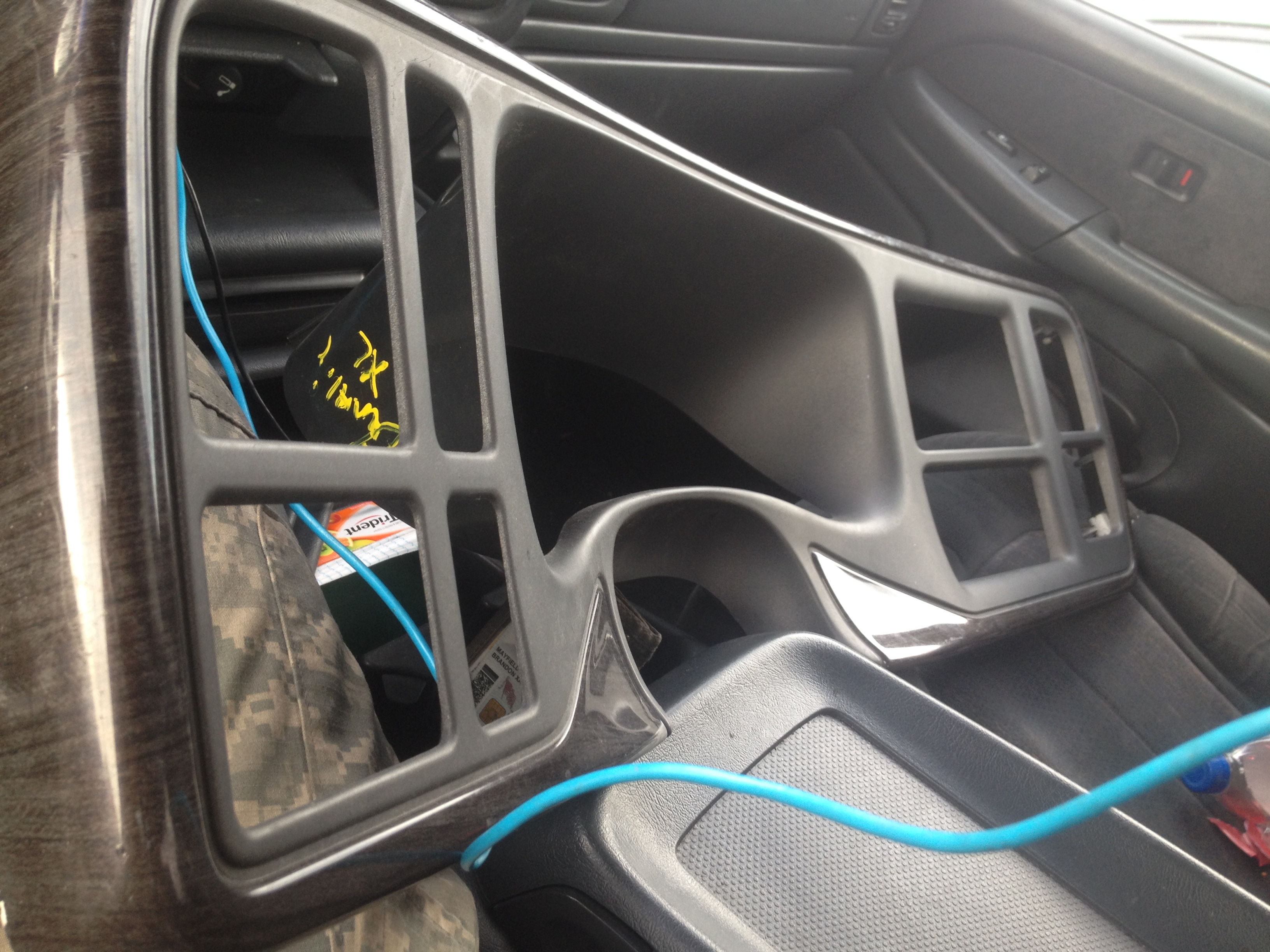 Denali gauge cluster and dash bezel(double din coming soon) - 19127384