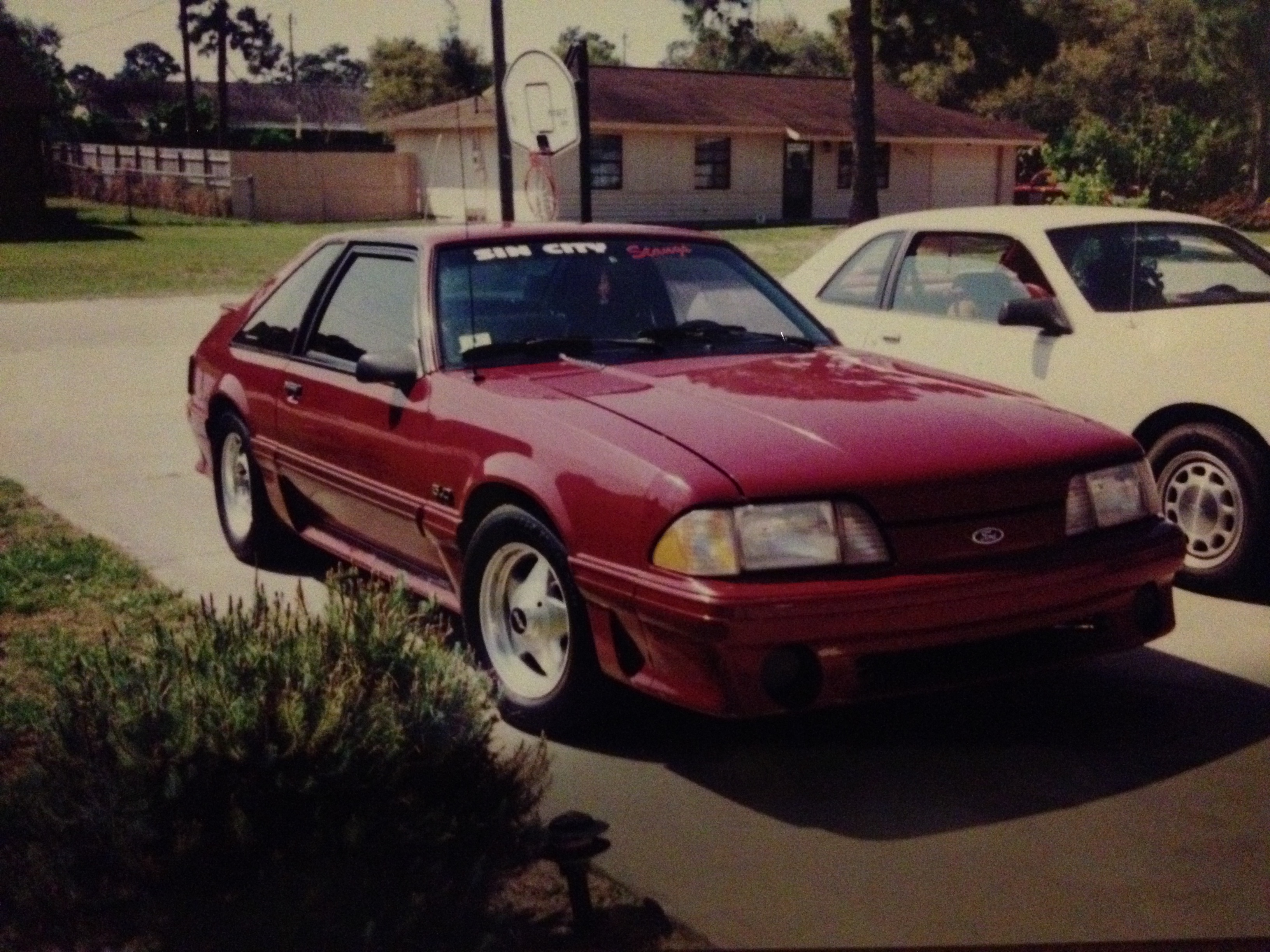 My old 87 GT ..the first of my Foxbody addiction - 19117308