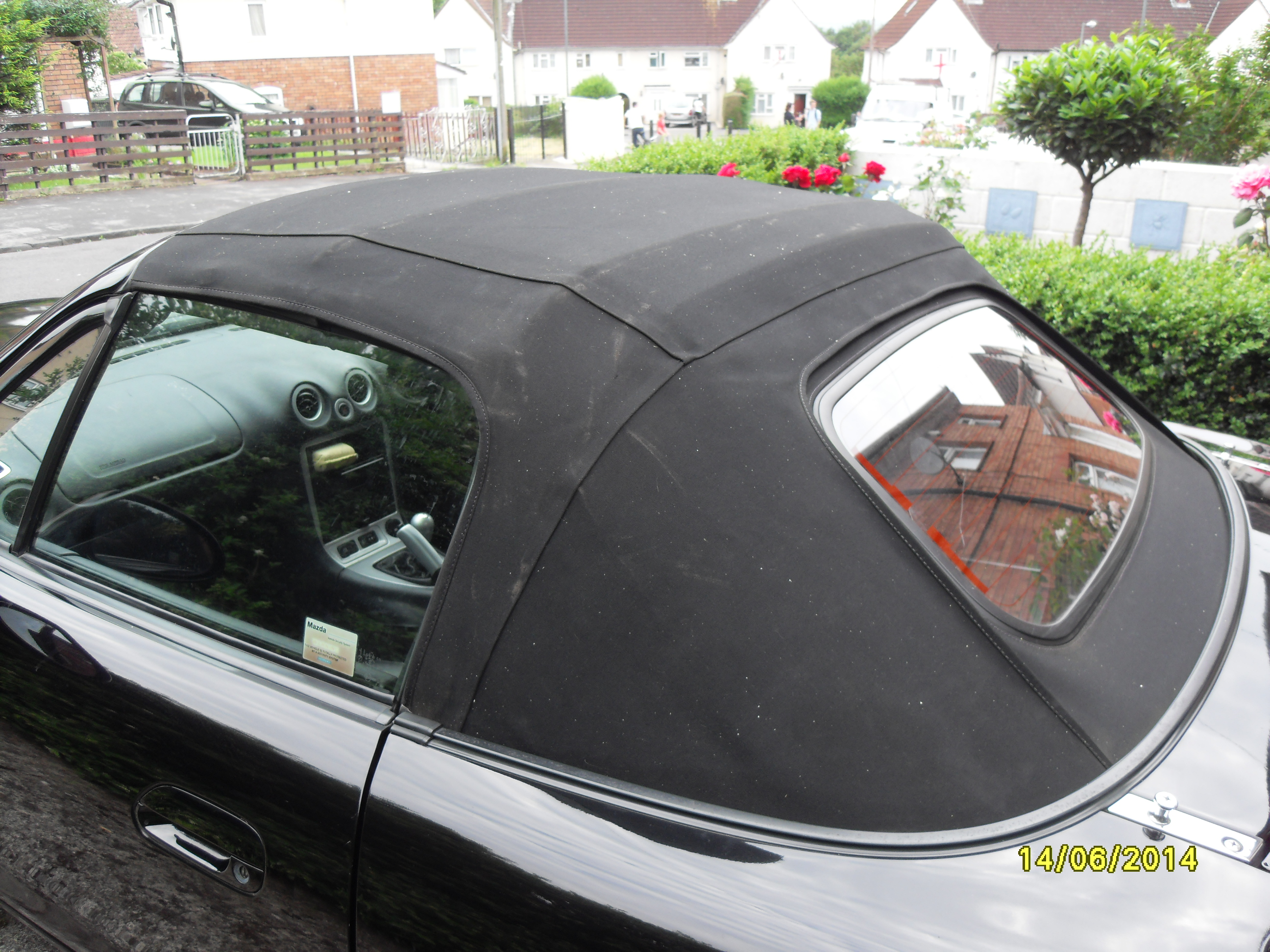 Frame with Mohair Hood fitted - 19058342