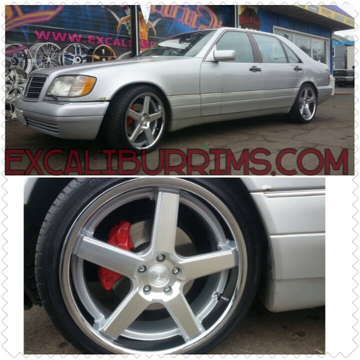 New Rims for the Benz... - 19063528