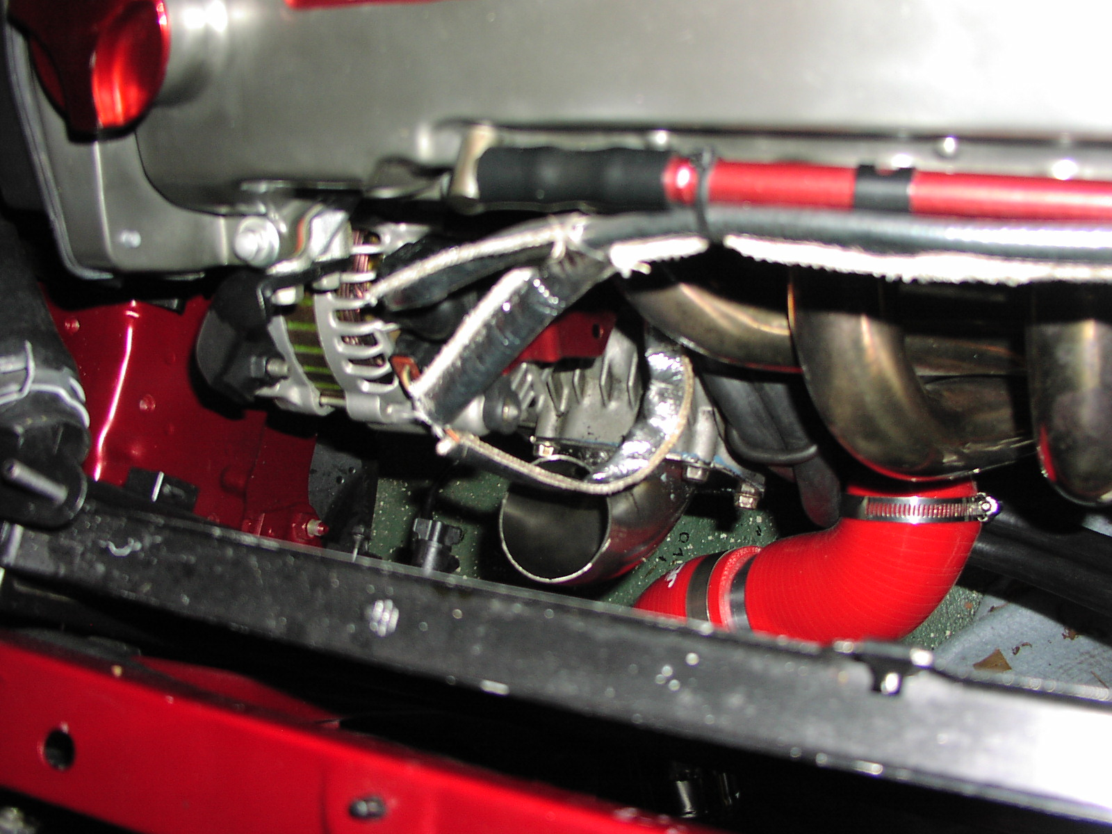 super charger pipe work - 19026582