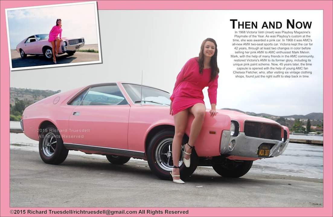 1968 pink Playmate AMX finished! - 19107529