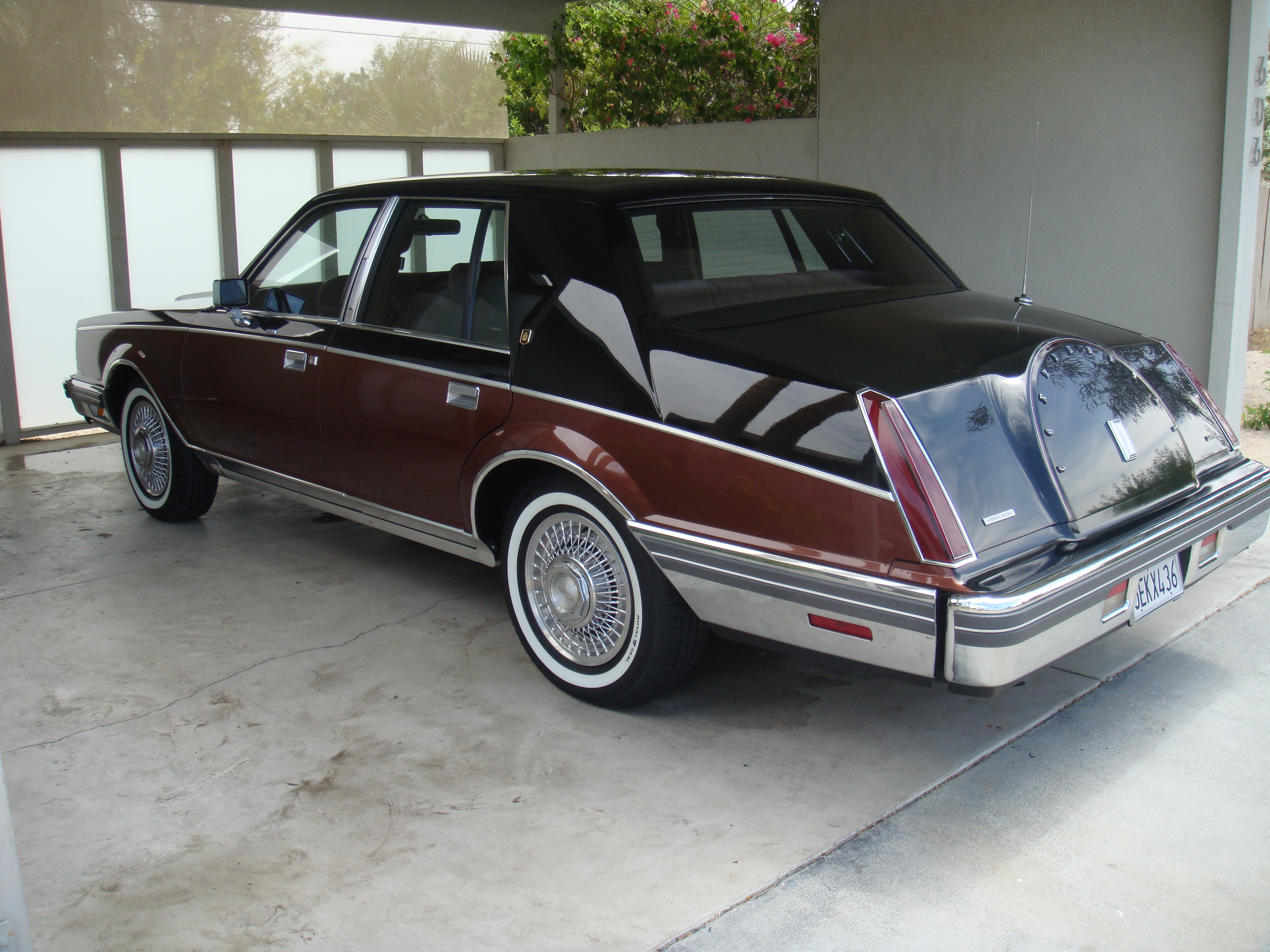 1982 lincoln continental givenchy for sale. Black Bedroom Furniture Sets. Home Design Ideas