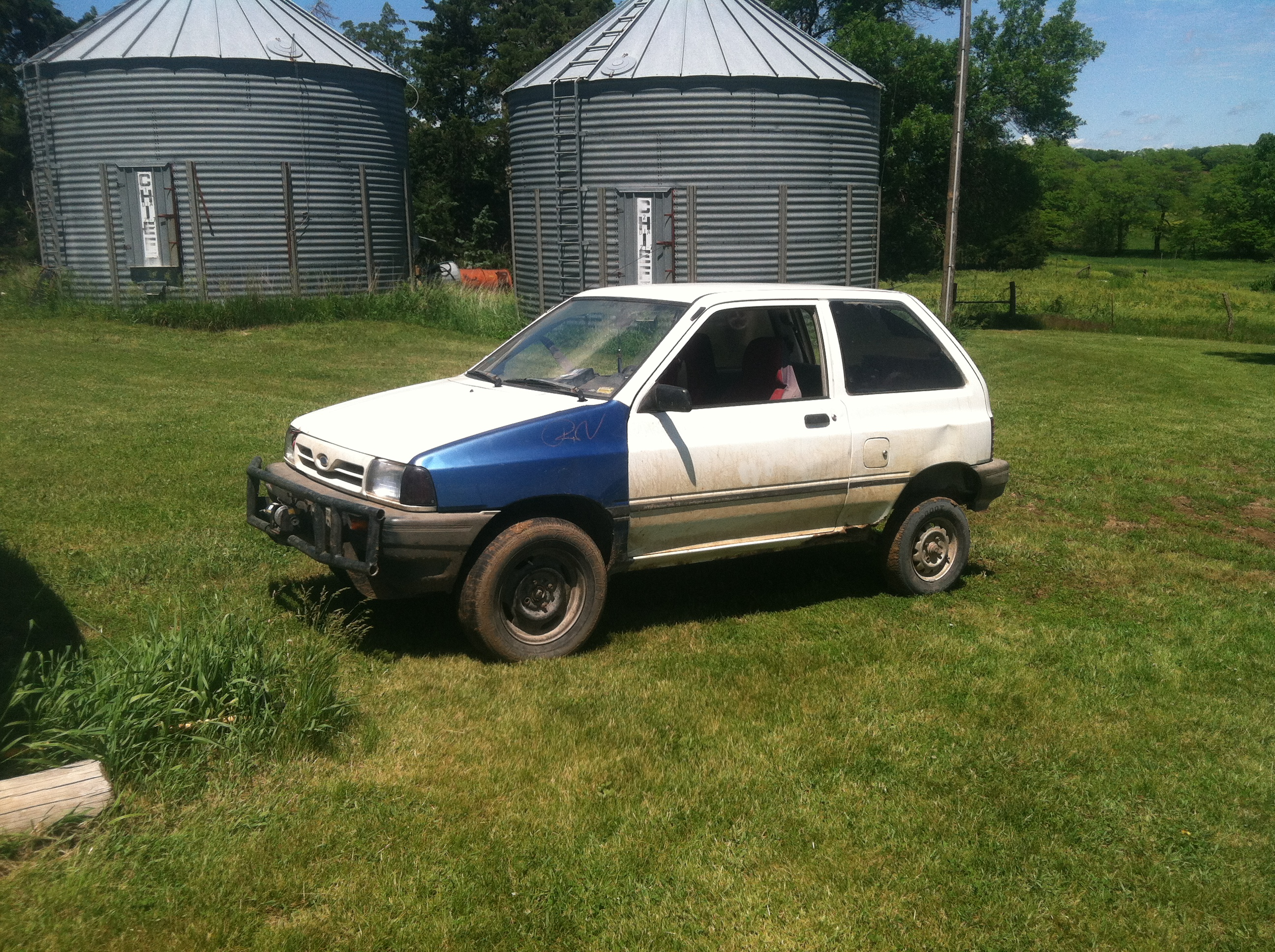 LIFTED BP FORD FESTIVA