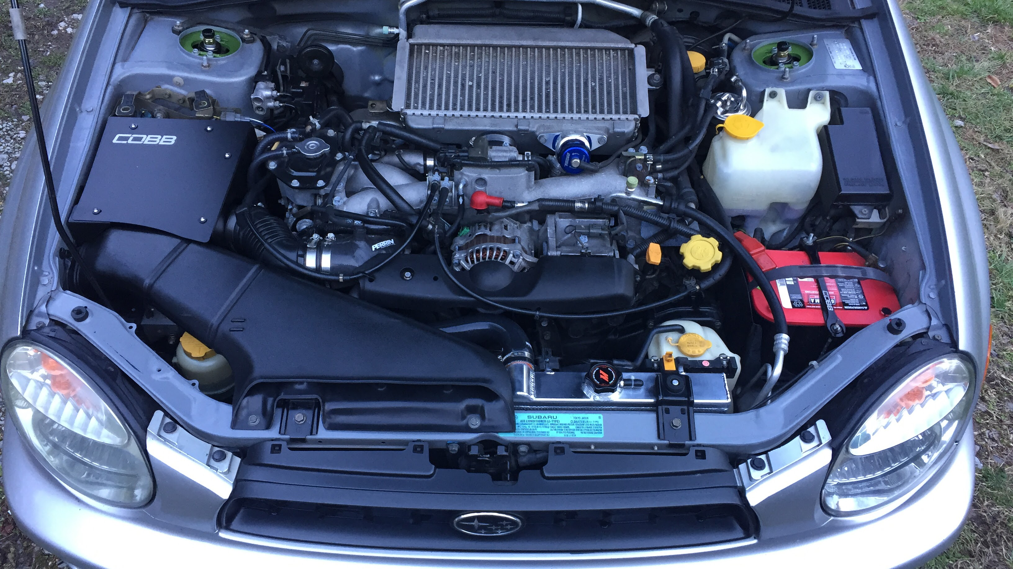 COBB Tuning SF Intake and Airbox, Mishimoto Radiator & Mishimoto Silicone Radiator Hose Install - 19170787