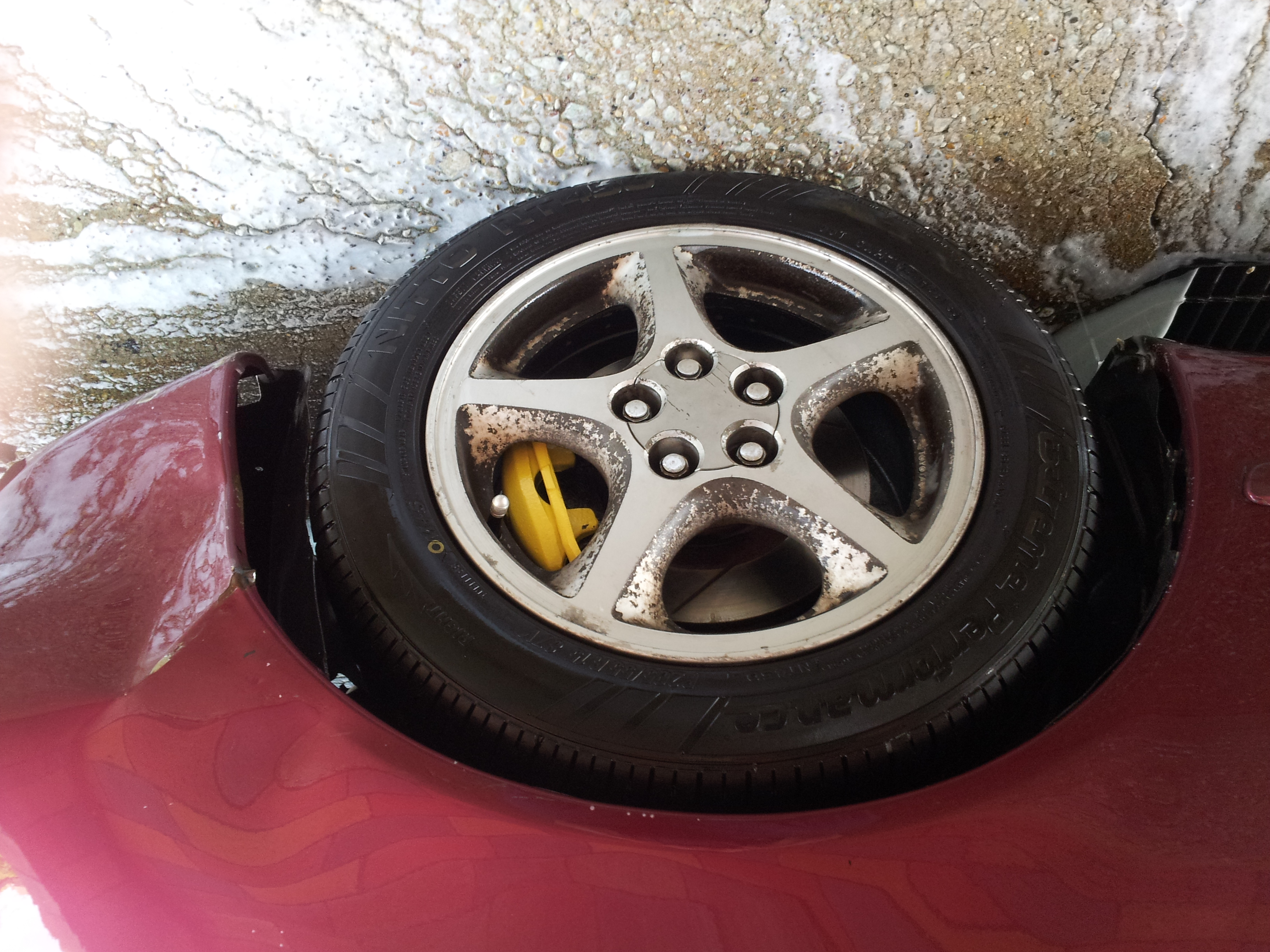 Painted calipers  - 19073738