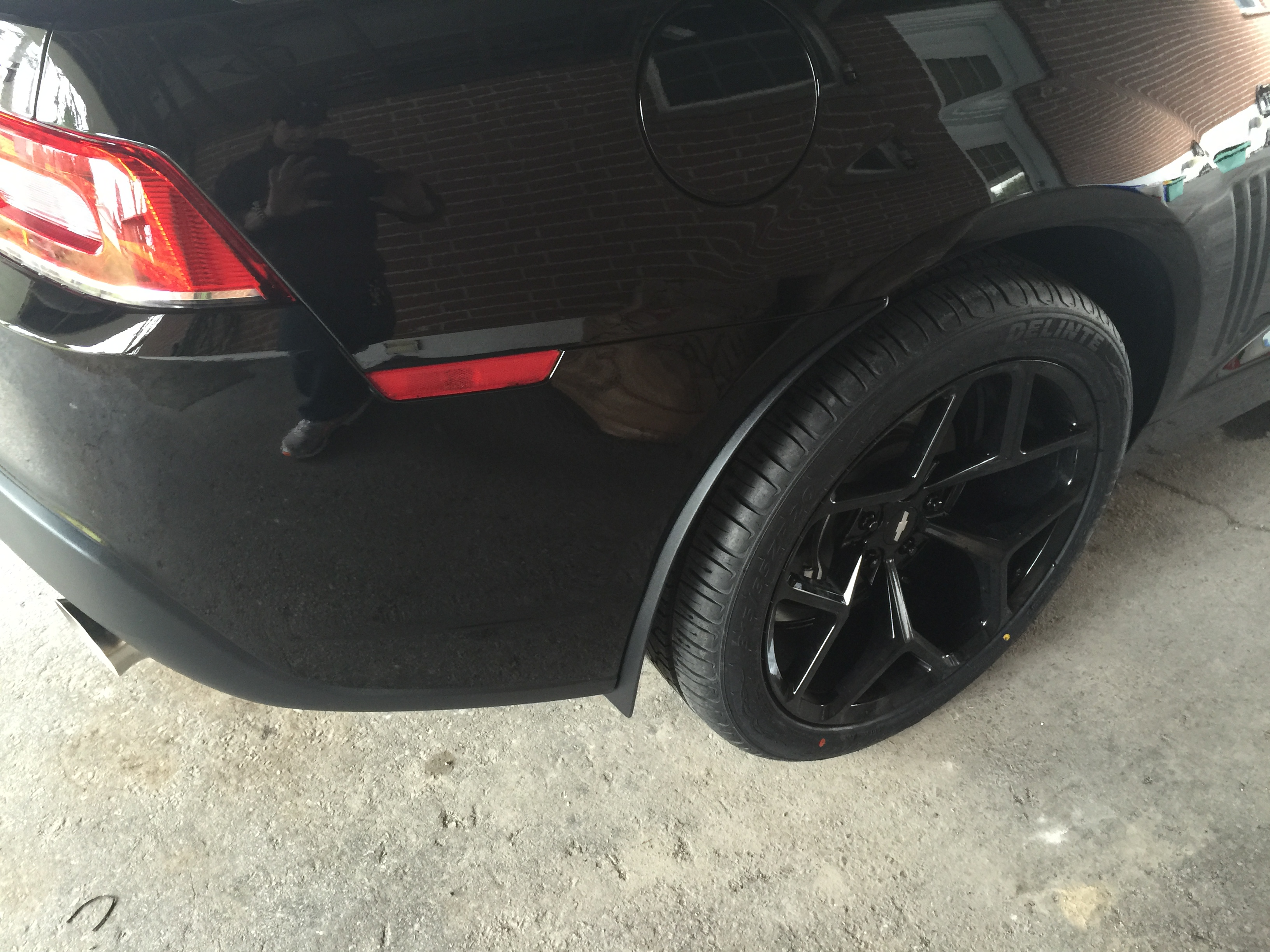 Added some factory ZL1 rock guards/mud flaps. - 19104711