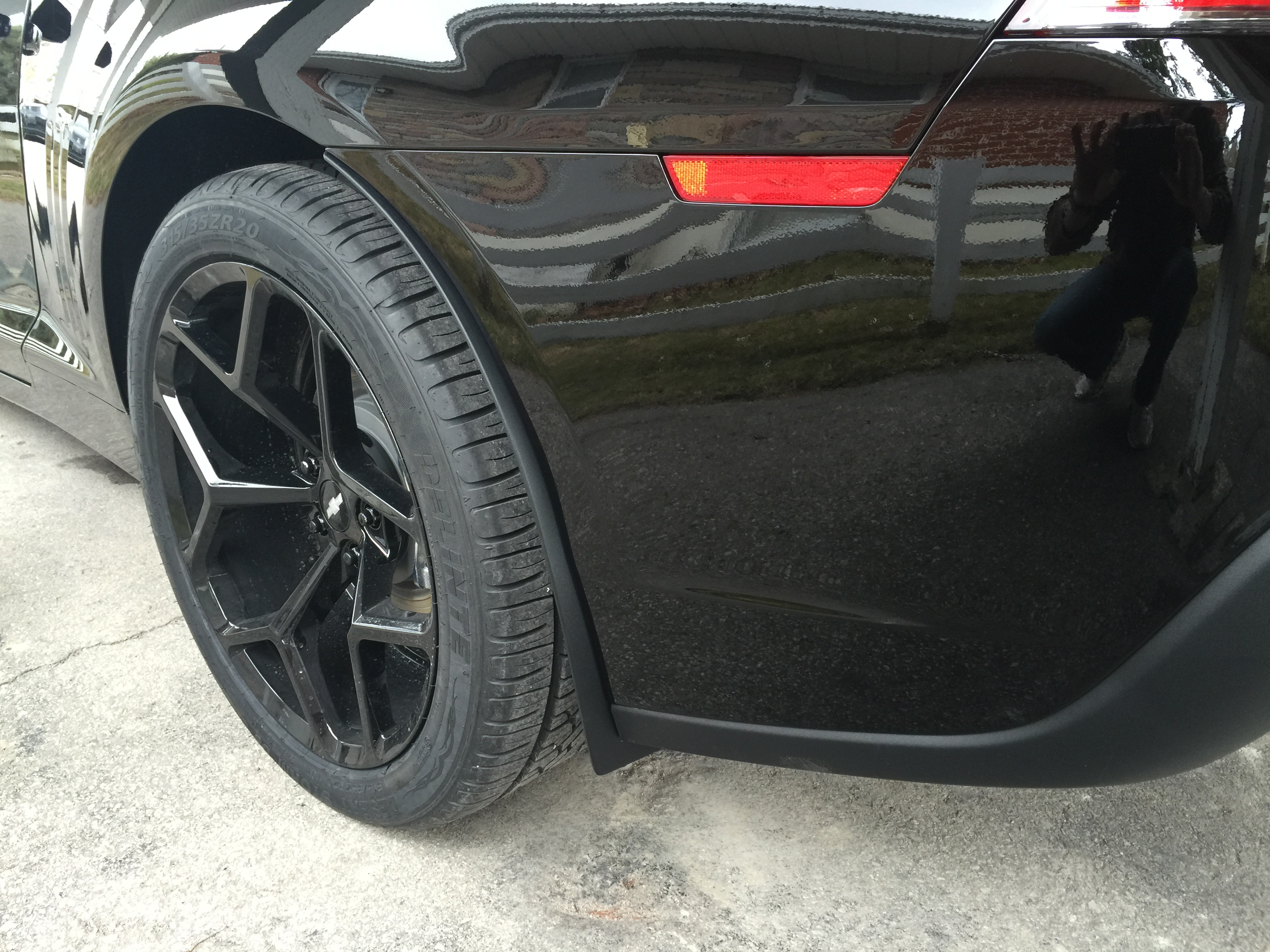 Added some factory ZL1 rock guards/mud flaps. - 19104712