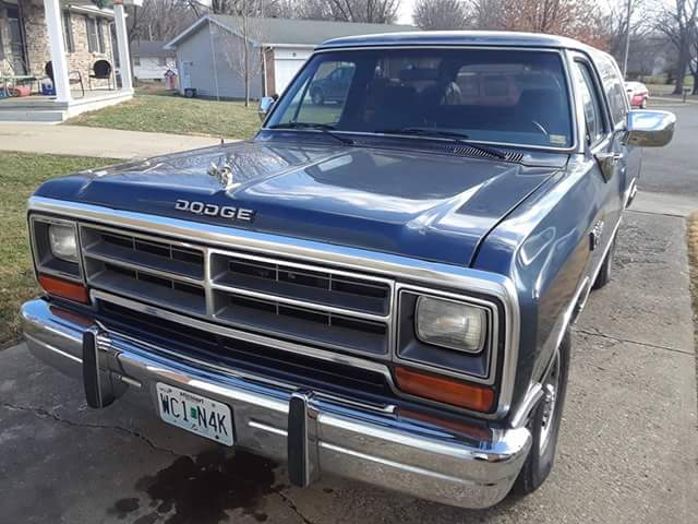 The Olds 88 replacement... 89 Dodge Ramcharger 2wd.... aka the