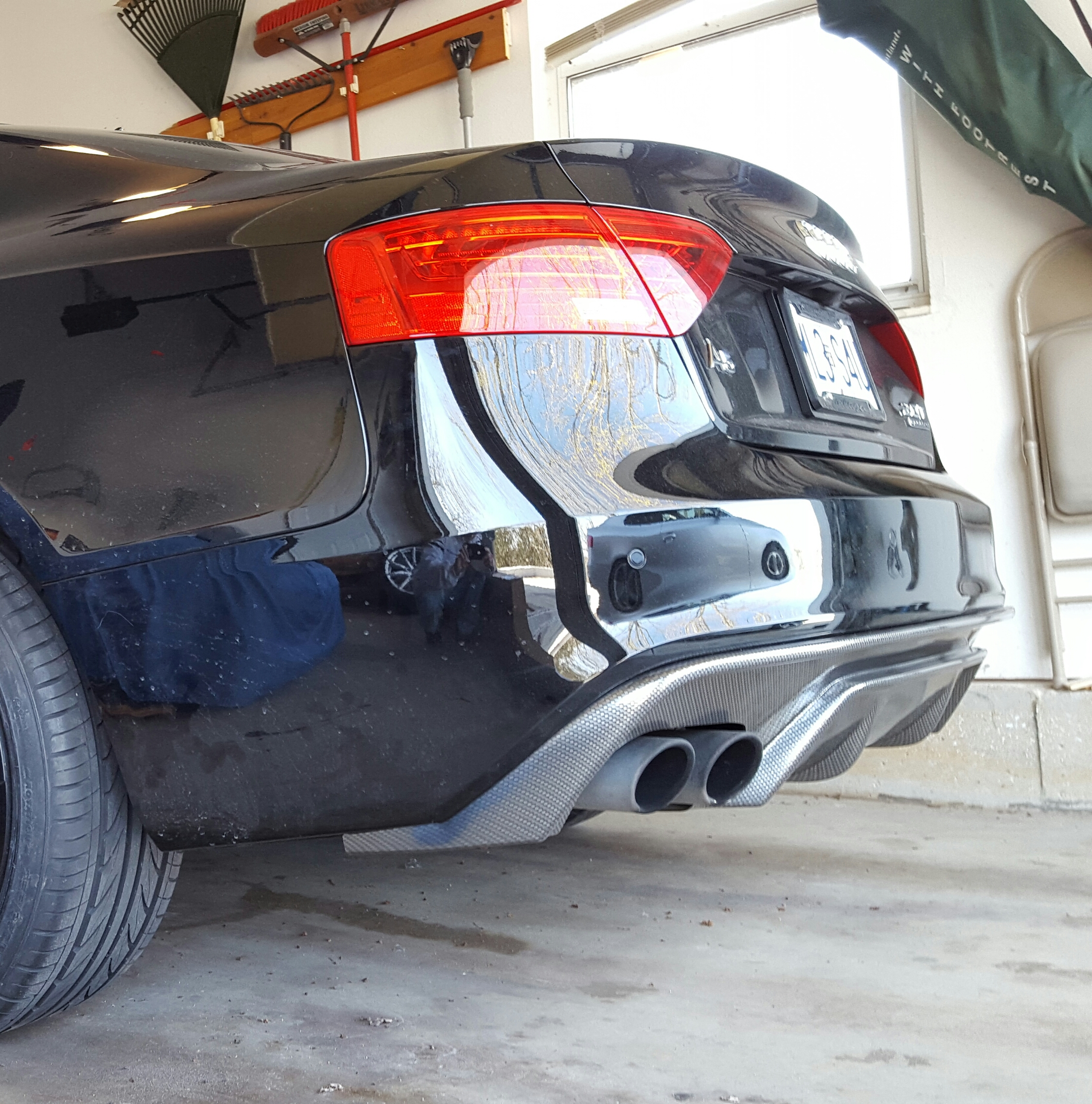 Removal Of Rear Bumper & Diffuser/valance From 2015 Audi
