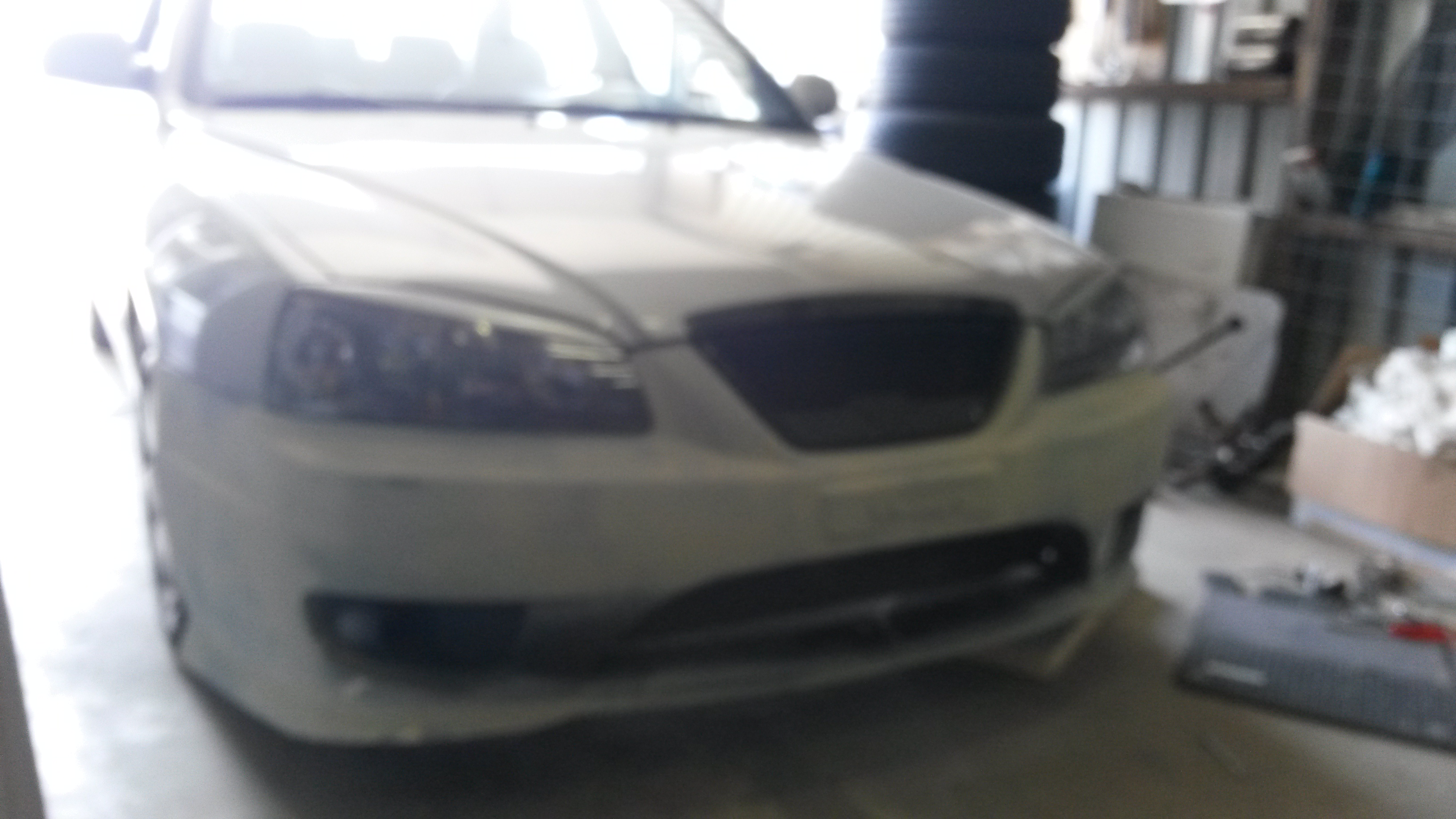 Working on my new front bumper - 19035807
