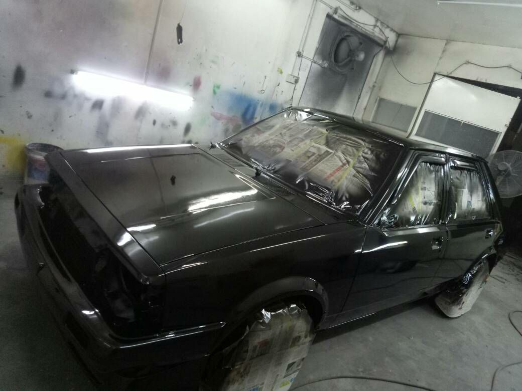 Newly done paint job.. never this dark before...they call this