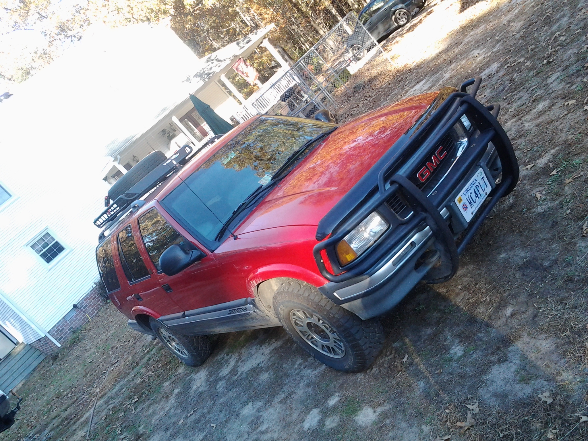 Another ndrisk 1995 gmc jimmy post - 19087820