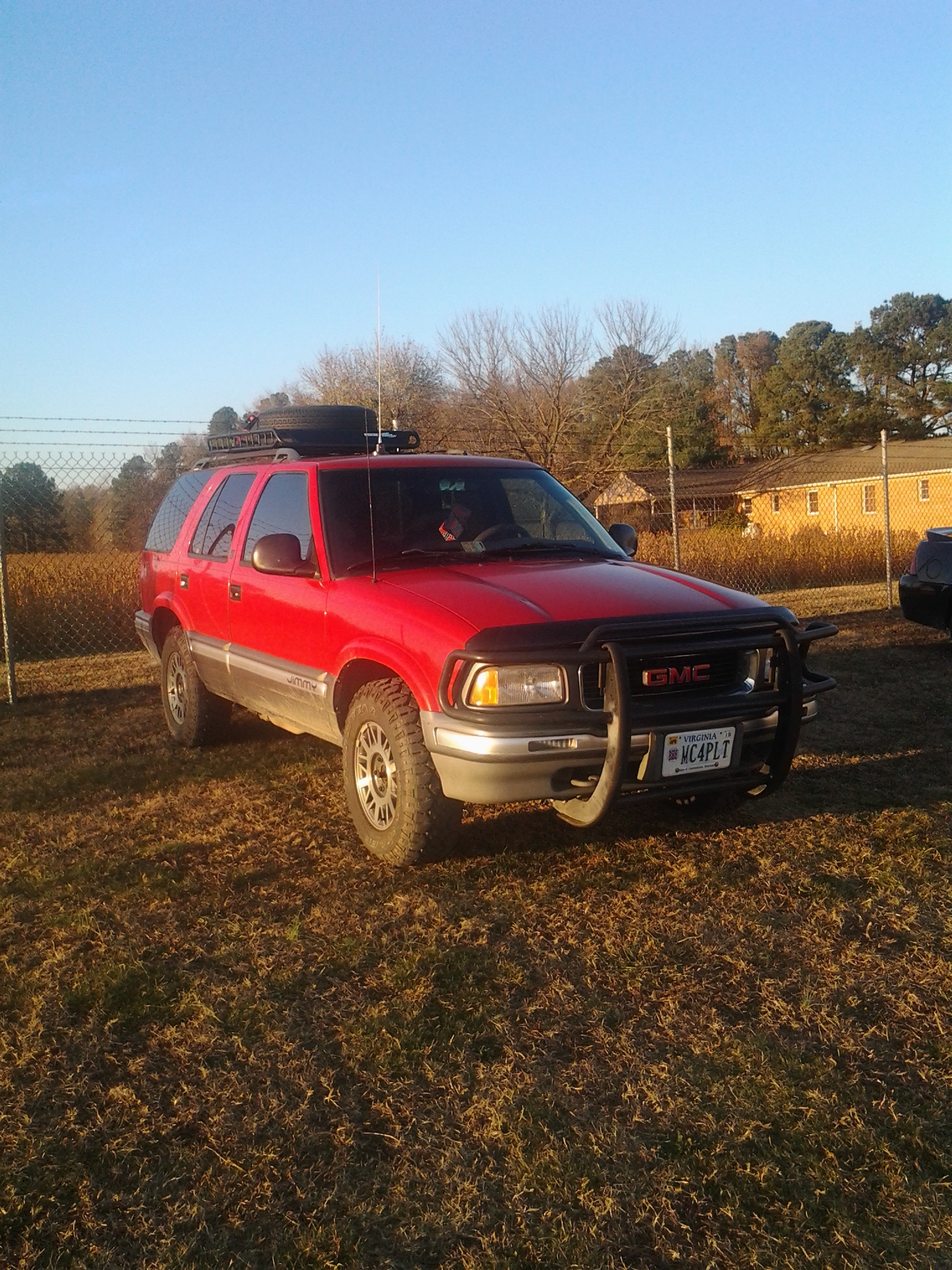 Another ndrisk 1995 gmc jimmy post - 19087824