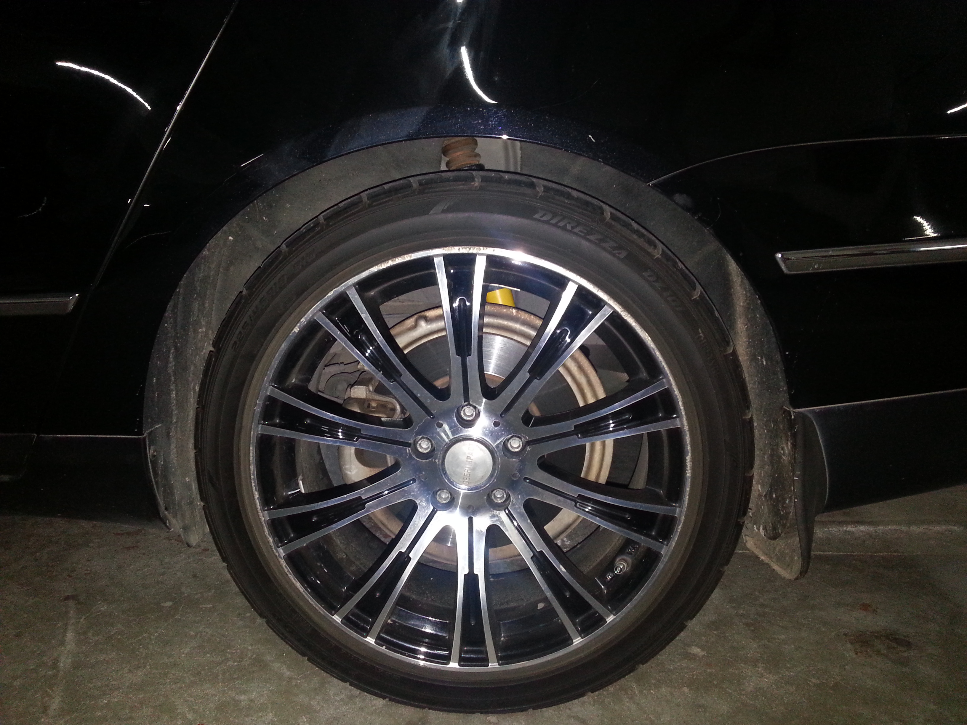 Lowered on Bilstein B12 Pro-kit with 18in Wheel - 19021937