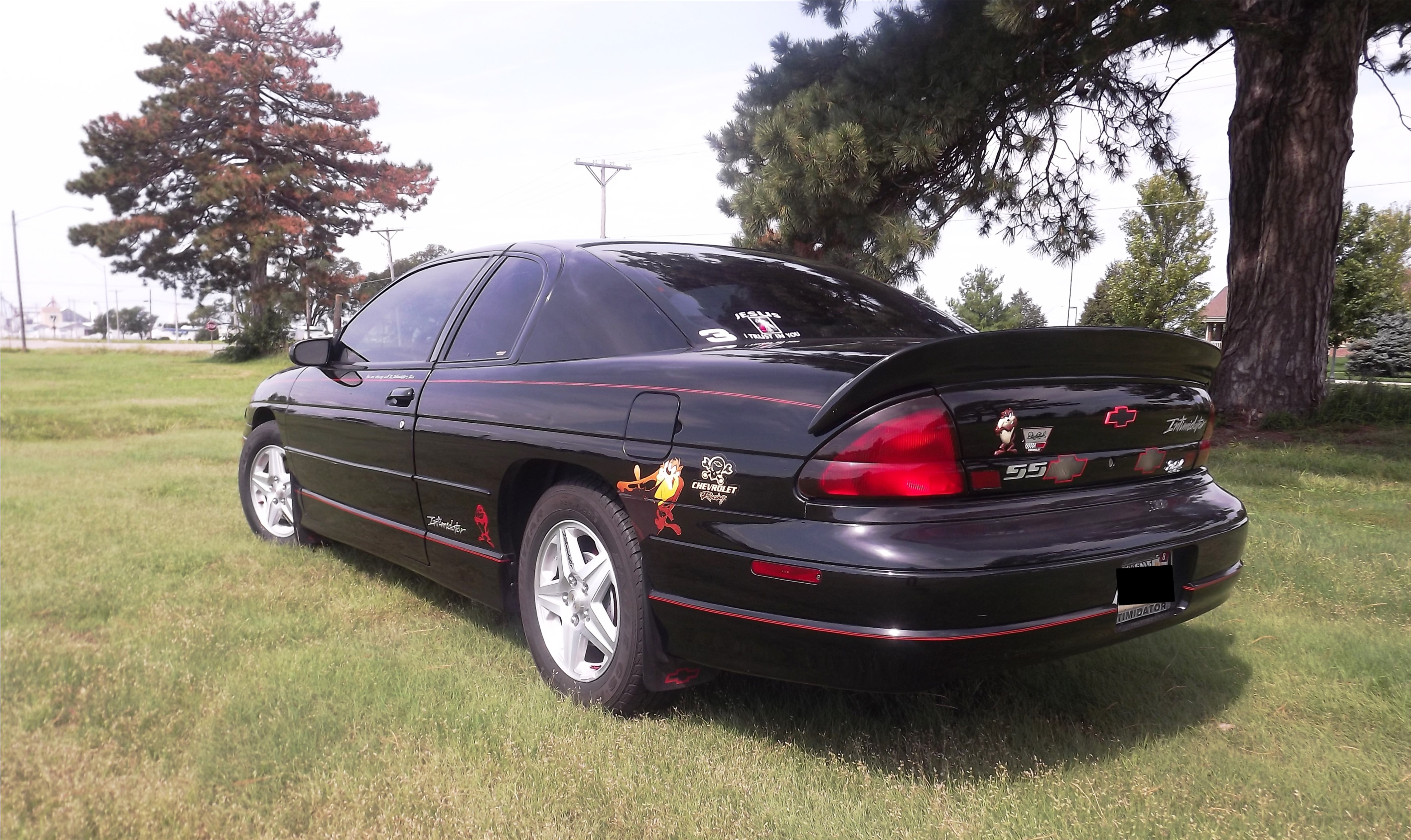 drivernumber3 1999 chevrolet monte carloz34 coupe 2d specs. Black Bedroom Furniture Sets. Home Design Ideas