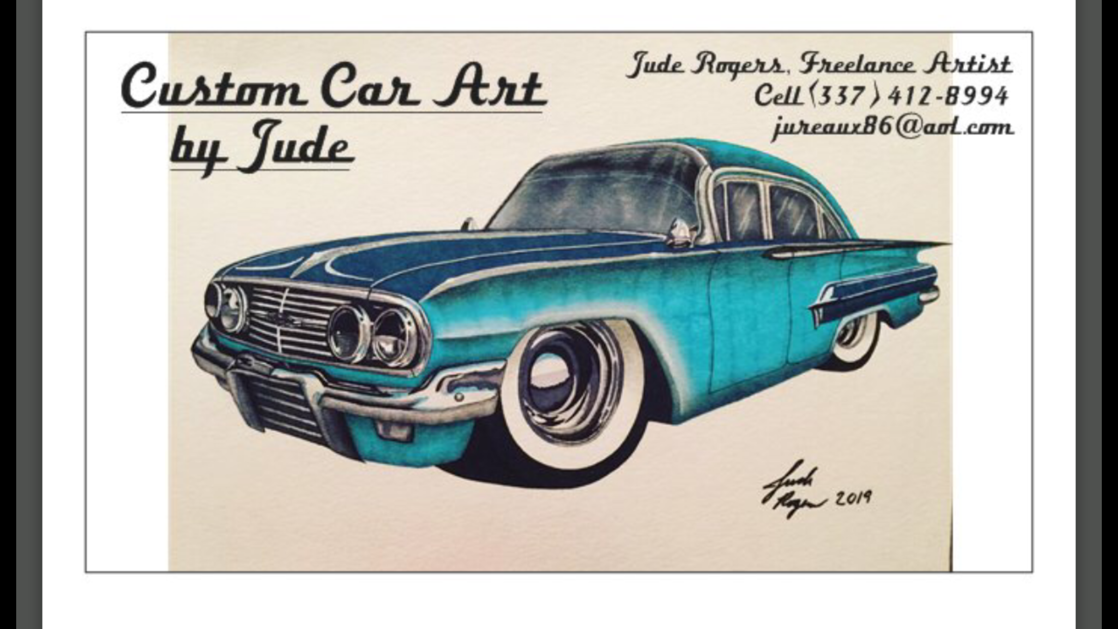 Car Drawings, I have since been married in 2013 and no longer have my sports car, but I do draw cars now...something I haven't done in years! Hope y'all enjoy! - 19195984