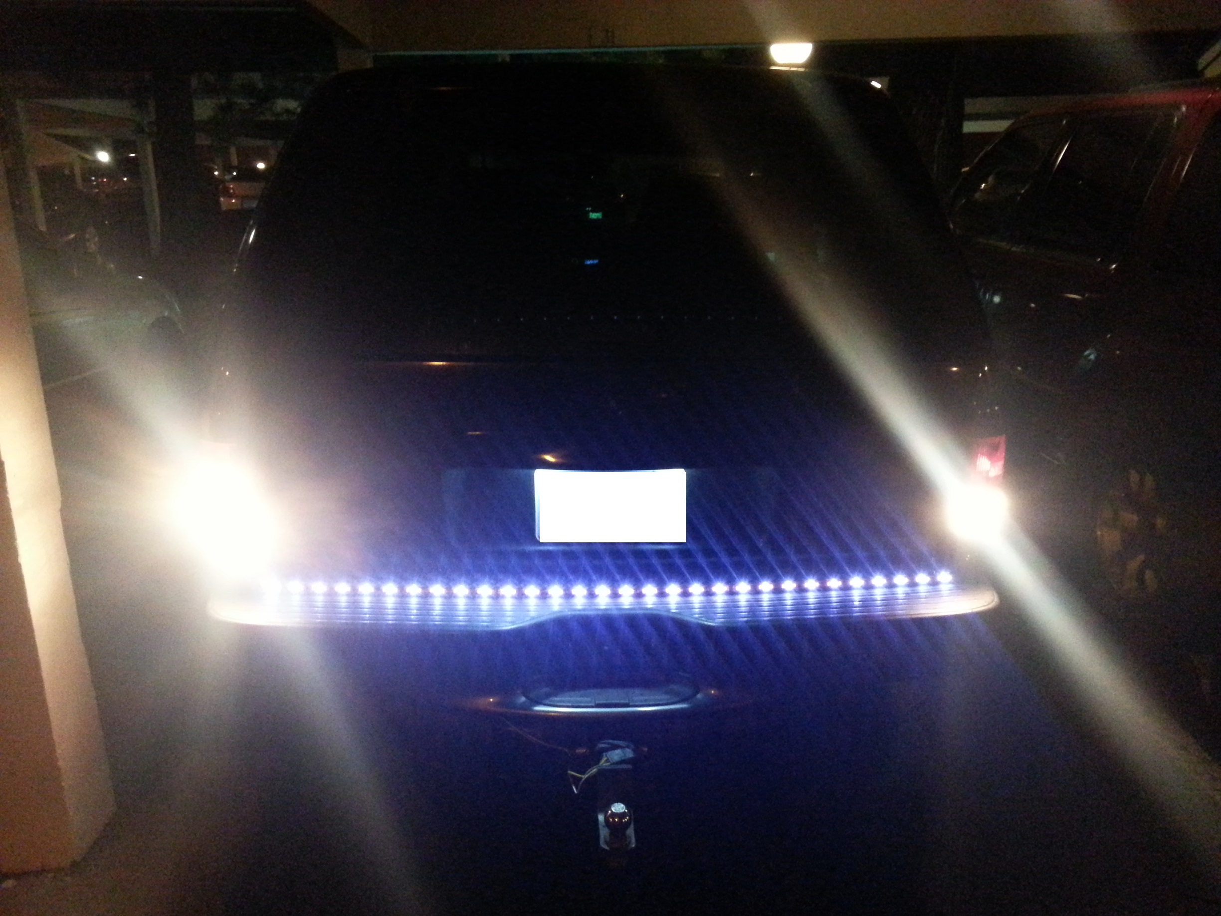 Led Light Bar Installed - 19046923
