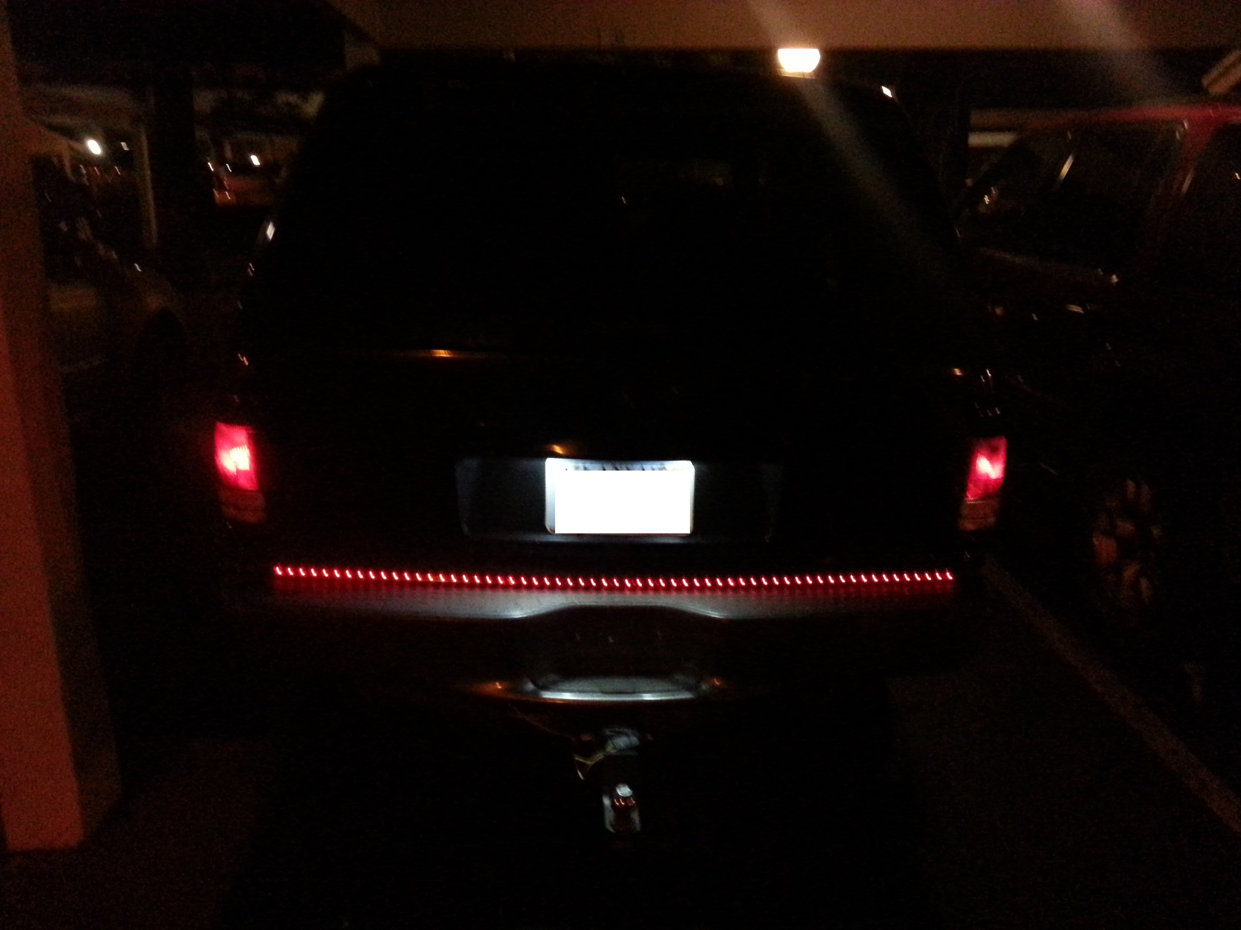 Led Light Bar Installed - 19046924