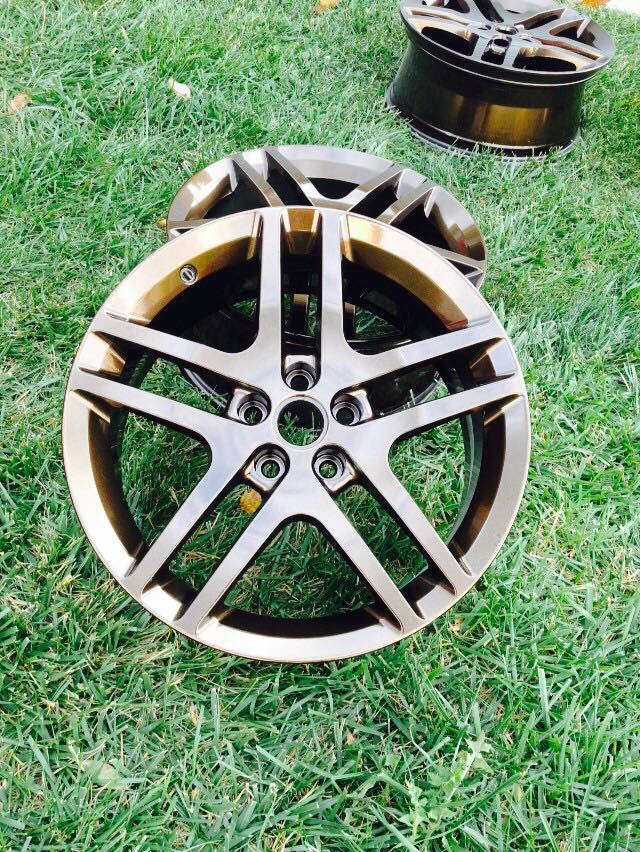 Stock rims w/powdercoat - 19096967
