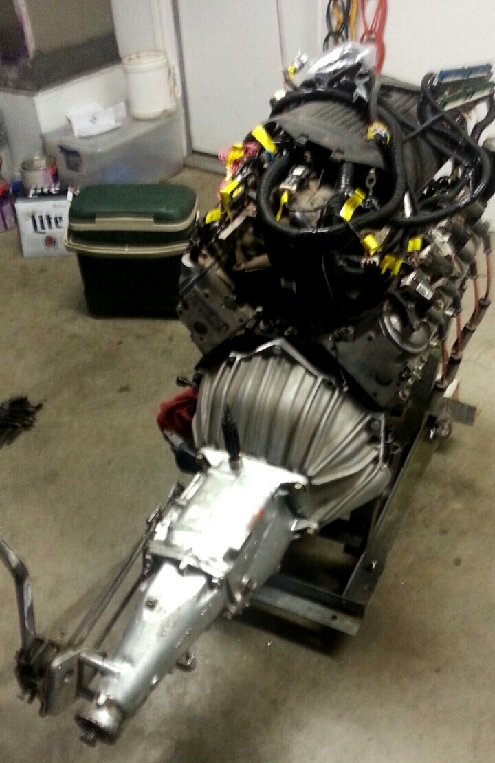 Modern LSX mated to Classic 4 Speed - 19106928